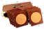 Set-8-Vintage-1980-039-s-Wood-Cork-Copper-Old-Coasters-Chest-Of-Drawers-With-Handle thumbnail 12