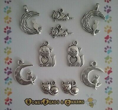 ❤Halloween Theme Charms ❤Pk of 10❤CRAFTING//JEWELLERY MAKING❤COMBINED P/&P❤ Set 2