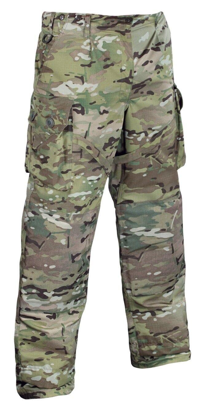 Leo Köhler BW German Army KSK MULTICAM lotta pantaloni pants taglia L 52/54