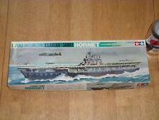 WW#2, USS HORNET (CV-8) AIRCRAFT CARRIER, TAMIYA Plastic Model Kit, Scale 1/700