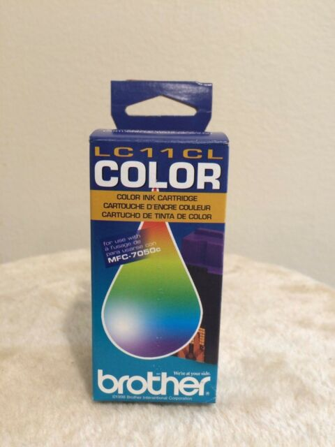 BROTHER LC11CL FOR MFC-7050c COLOR INK CARTRIDGE - NEW SEALED