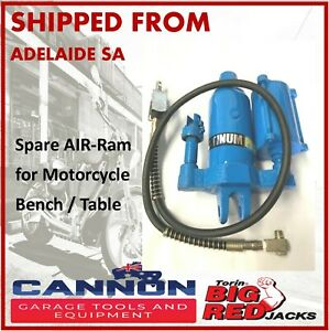 New-Air-Hydraulic-Motorcycle-Bench-Jack-Lift-Table-SPARE-RAM-ONLY-NO-HOSE