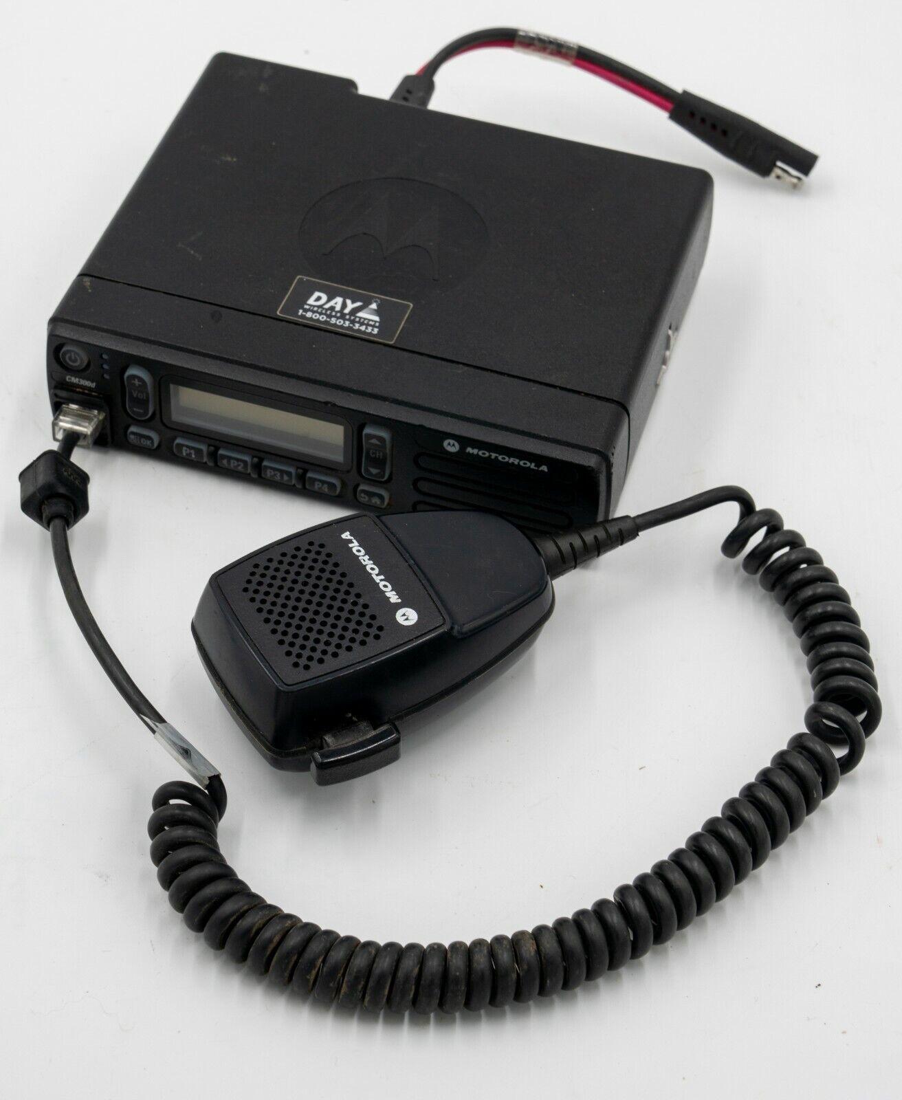 Motorola CM300D UHF Mobile Radio & Antenna. Buy it now for 249.99