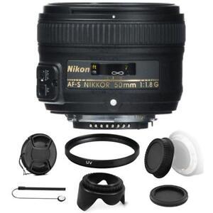 Nikon-AF-S-NIKKOR-50mm-f-1-8G-Lens-with-Accessory-Kit-For-Nikon-D7000-D7200