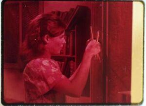 Star-Trek-TOS-35mm-Film-Clip-Slide-Miri-Kim-Darby-Sharpening-Pencils-1-8-51