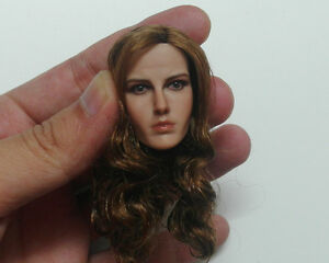 Custom-1-6-Scale-Pretty-Lady-Head-Sculpt-For-Hot-Toys-Female-Body