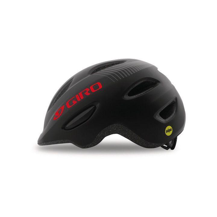 Giro Fahrrad Fahrrad Fahrrad Kinderhelm Scamp MIPS - schwarz ba0b10