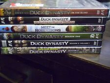 (6) Duck Dynasty Season DVD Lot: Seasons 1, 2: Volume 1 & 3 Christmas    (2) NEW