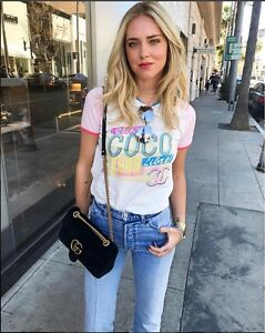 Nwt fabulous chanel coco cuba cruise 2017 t shirt tee small s for Authentic chanel logo t shirt