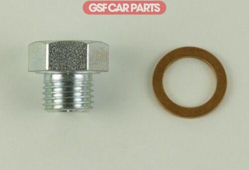 Sump Plug Drain drainage système de lubrification Avec Rondelle pour Vauxhall Brava
