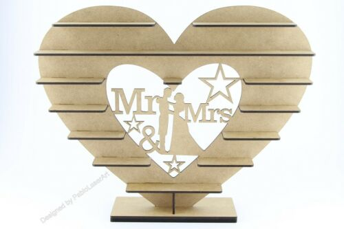 "/""Mr /& Mrs/"" ASSEMBLED !!! Ferrero Rocher Stand MDF version !!!"