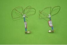 2.4G 3&4 Blades RP-SMA Clover Leaf Antenna & Skew Planar Audio Video FPV TX RX