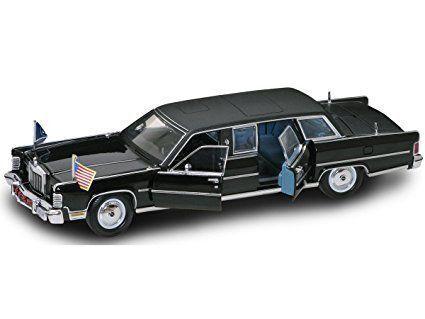 Lincoln Continental President R. nixon 1972 1 24 Model Lucky la cast