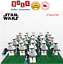 thumbnail 11 - 21pcs lot STAR WARS Clone Trooper Commander Fox Rex Mini toy building block