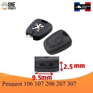 Boitier-Coque-telecommande-cle-plip-pour-Peugeot-106-107-206-207-307-9-5-mmx2-5