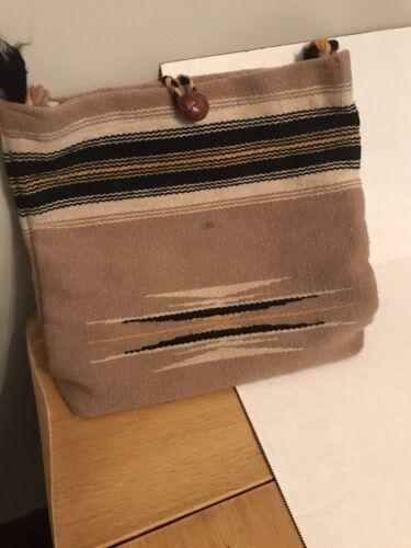 Vintage Ortega's Hand Woven Wool Chimayo Purse