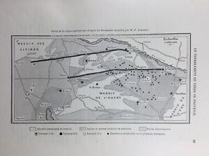 Lambesc-1909-Seisme-Rognes-Provence-Saint-Cannat-Digne-Sismologie-Angot-Salon