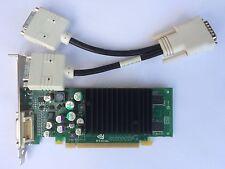 DUAL HP 396683-001 398685-001 NVIDIA NVS 285 P283 128MB PCIE WIN 8 DVI SPLITTER