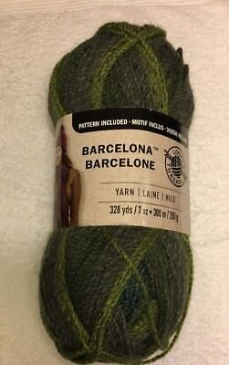 1 large skein Loops/&Threads Barcelona gradient yarn Peony 328 yds
