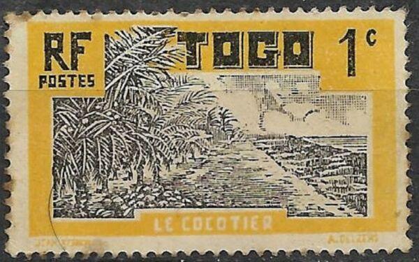1924. Togo. Avec Des MéThodes Traditionnelles