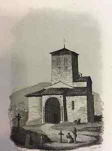 Eglise-Antique-of-Lescure-First-half-Xixth-Arriege-France