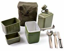 Original Yugoslavian mess kit. Army military mess kit canteen cutlery