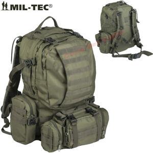 Zaino-Defense-Assembly-Scomponibile-4-in-1-Militare-modulare-MilTec-Verde