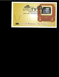 2009-FDC-Early-TV-Memories-Ed-Sullivan-North-Hollywood-CA