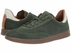Cole Haan grandpro Chaussures Hommes Turf Baskets en Cuir & Daim Sz 8 M Olive Foncé