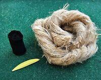Oakum Fire Tinder Bundle & Char Cloth, Bow Drill, Fire Piston, Flint And Steel