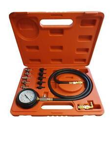 Medidor-de-Presion-de-Aceite-de-6722-Hub-De-Herramientas-Tester-Kit-Calibre-Diesel-Gasolina-Garaje