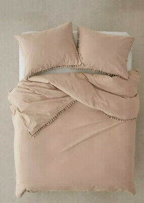 New Urban Outfitters Uo Washed Cotton Duvet Cover In Sand Twin Xl Ebay