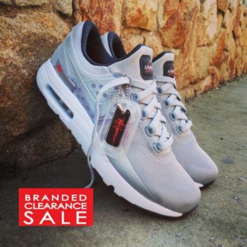 Tamaño Boys Uk Gris 6 Max Silver Nike Metallic Bnib New Air 5 Zero axwpn48q