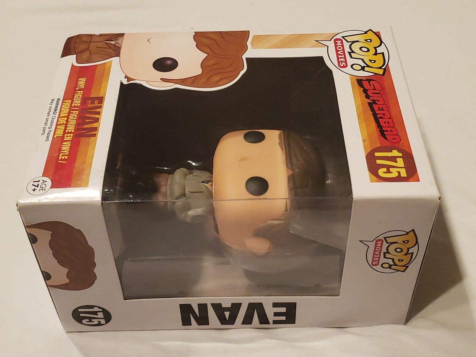 NEW OFFICIAL FUNKO POP MOVIES SUPERBAD EVAN #175 VINYL FIGURE