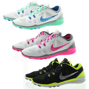 c57899b150538 Nike 718932 Womens Free 5.0 Low Top Running Training Athletic Shoes ...