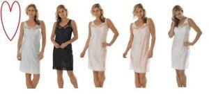 Slips Women's Clothing Damen Unterkleid Damen Unterkleid Unterrock Volle Länge Größen 12-28