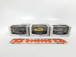 CG456-0-5-3x-Herpa-authentic-collection-H0-1-87-PKW-Automobil-Audi-A3-NEUW-OVP