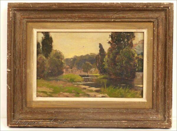 Hsp Pintura Cuarto De Houmeau Angoulême Forel 1910