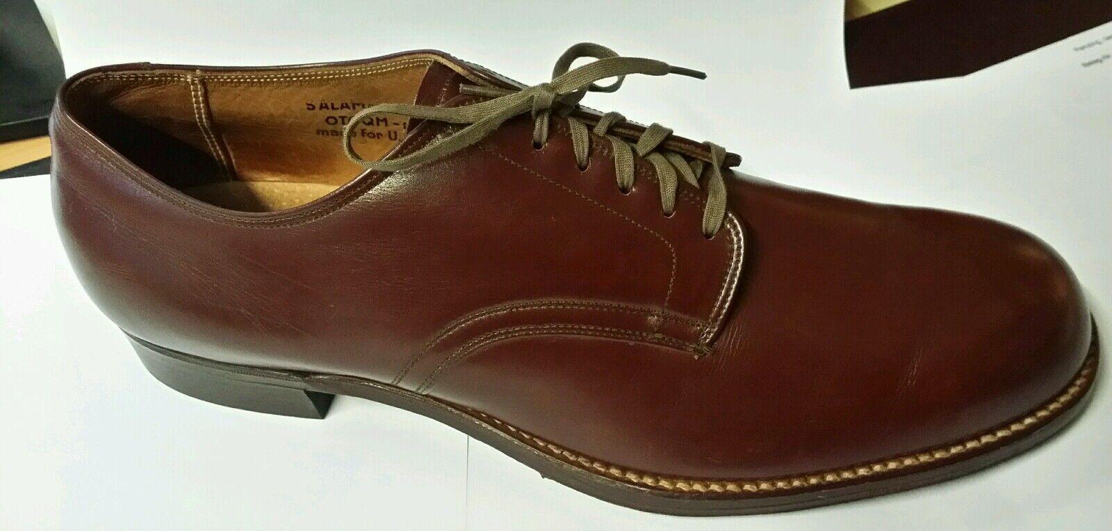 Salamander Paar Schuhe von 1946 - für die US Army hergestellt - wie NEU
