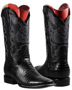 048ea9d375f Details about Men's Cowboy Rodeo Boots El General Lizard Print Imitacion  Armadillo