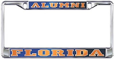 UCF CENTRAL FLORIDA Mirrored ALUMNI License Plate Tag Frame Craftique