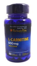 L-Carnitine 500 Fat Burner Cutting Energy Bodybuilding Build Muscle Diet Pill