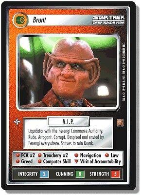 Star Trek CCG RoA Rules of Acquisition Krajensky Founder