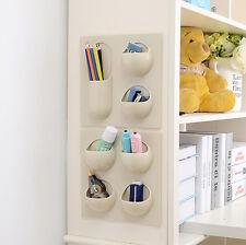 Magic Wall Storage Rack Organizer Holder Shower Shelf Basket Kitchen Bathroom