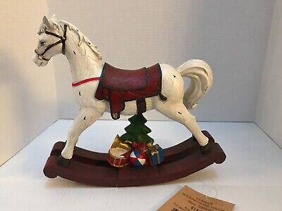 Rocking Horse Decor Statue Nwt