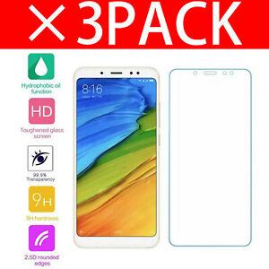 Pour-Xiaomi-Redmi-Note-5-AI-double-protection-d-039-ecran-verre-trempe-NEUF
