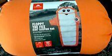 2 Floppy The Fox Ozark Trail Kids Orange Sleeping Bag-fox