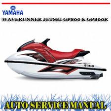 yamaha waverunner gp800 service manual