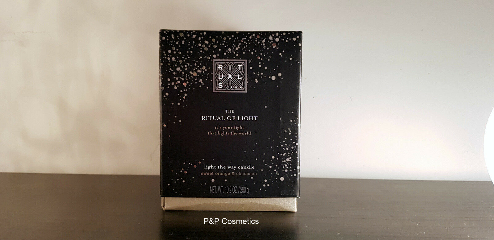 Rituals The Ritual of Light Candle 10,2 OZ 290 gr.  Limited Edition winter 2016