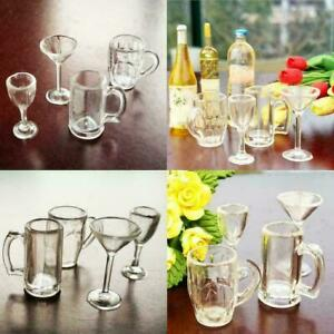 Dollhouse-miniature-4-peaces-drinking-glass-set-in-2019-scale-1-12-I2D8-C8K-X4B5